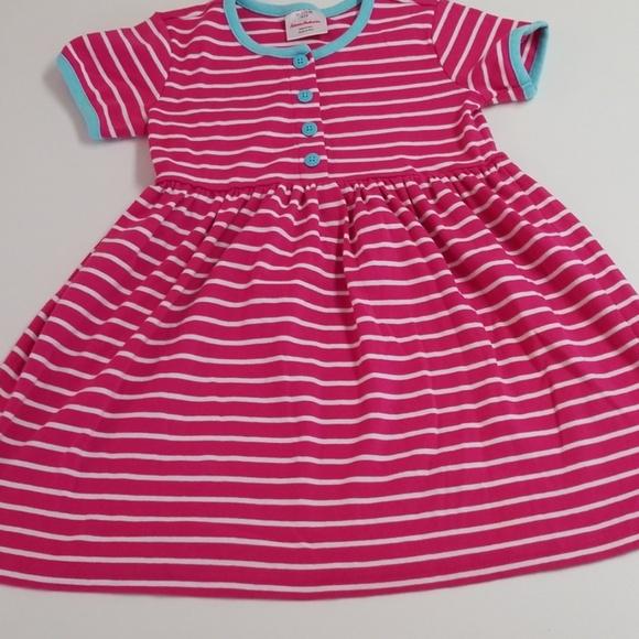 3413fdd5e31a Hanna Andersson Dresses | 110 Pink Striped Dress | Poshmark